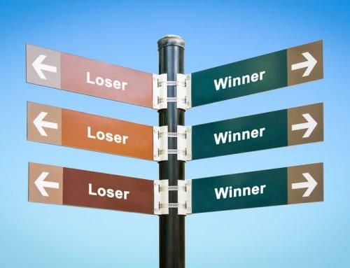 Losers hebben een excuus, winnaars een plan